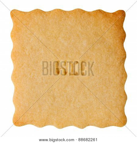 Cookie with HI sign