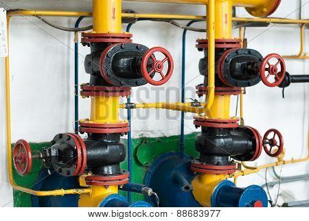 Valve Factory Gas Boiler Houses.