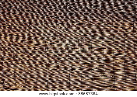 Abstract Background Of Large Bamboo Canes