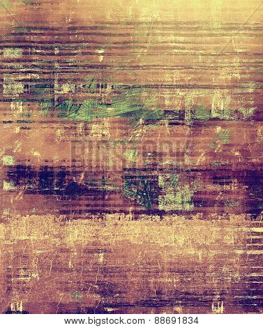 Old texture as abstract grunge background. With different color patterns: yellow (beige); brown; gray; purple (violet)
