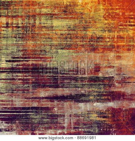 Old texture - ancient background with space for text. With different color patterns: yellow (beige); purple (violet); red (orange); pink