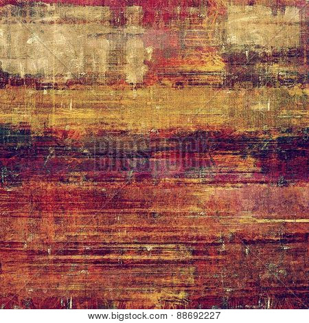 Rough grunge texture. With different color patterns: yellow (beige); brown; purple (violet); red (orange)