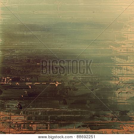 Abstract grunge background. With different color patterns: brown; gray; green; black