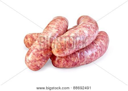 Sausages pork raw