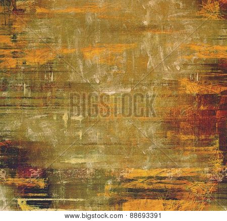 Old background or texture. With different color patterns: yellow (beige); brown; gray; green