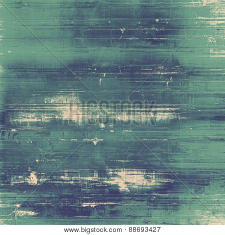 Old texture - ancient background with space for text. With different color patterns: gray; blue; cyan