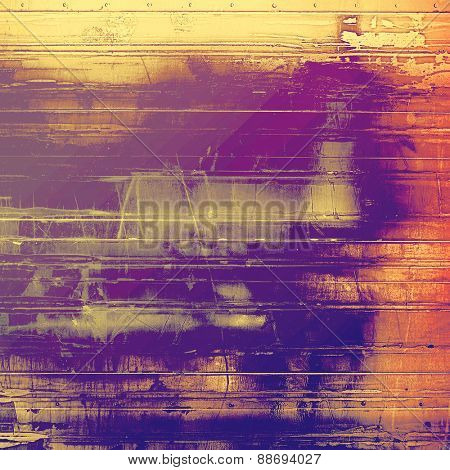 Old Texture or Background. With different color patterns: yellow (beige); brown; purple (violet); pink