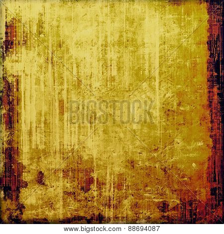 Colorful vintage texture. With different color patterns: yellow (beige); brown; purple (violet)