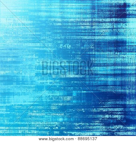 Old background or texture. With different color patterns: blue; cyan