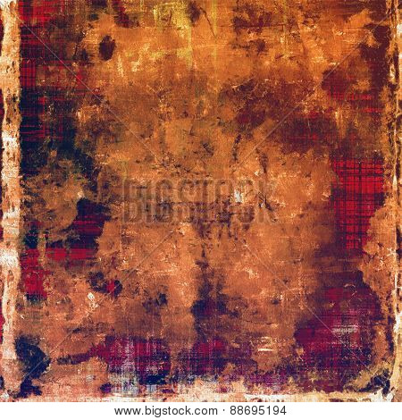 Vintage old texture for background. With different color patterns: yellow (beige); brown; purple (violet)