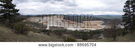 Limestone Mine, Koneprusy, Czech Republic