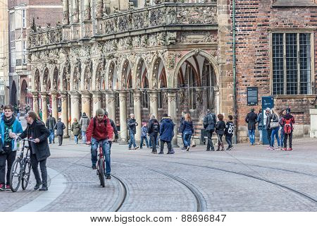 Old City Of Bremen