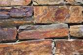 Weathered Stone Wall - Texture Background