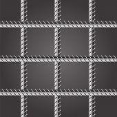stock photo of jail  - Prison Bars - JPG