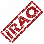 foto of iraq  - New Iraq grunge rubber stamp on a white background - JPG