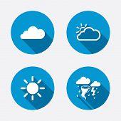 foto of hurricane wind  - Weather icons - JPG