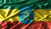 picture of ethiopia  - Ethiopia  fabric waving flag grunge moving old - JPG