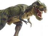 pic of pacific rim  - Isolated dinosaur and monster model in white background - JPG