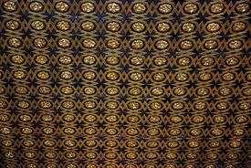 image of zar  - Ceiling of the Chapel of the Casa de La Contratación, El Alcázar Palace  Seville, Spain - JPG