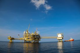 image of production  - Offshore oil and gas production and exploration business - JPG