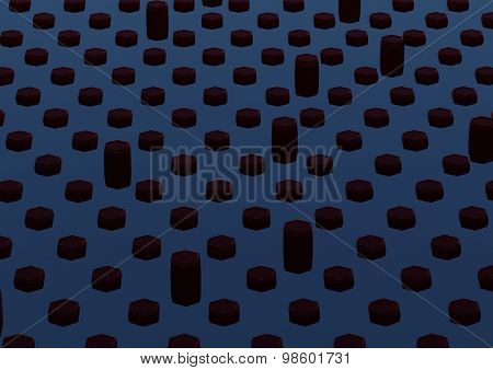 Abstract background with shape