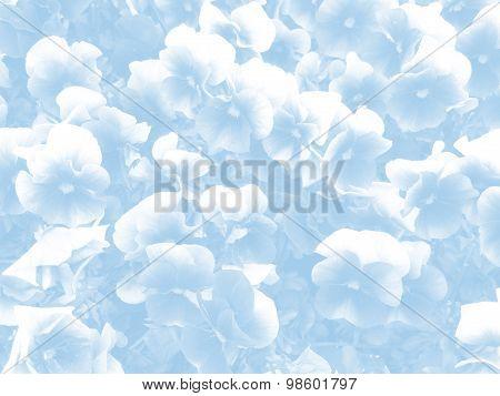 Flower Abstack Background Vintage Style