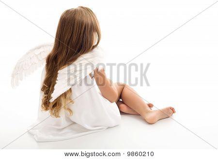Little Angel Thinking