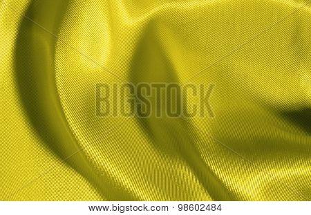 Background of yellow silk