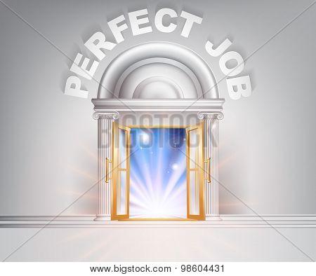 Door To The Perfect Job