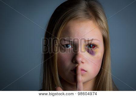 Quiet abuse victim