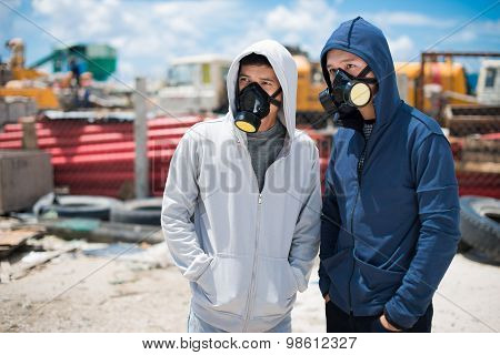 People In Respirators