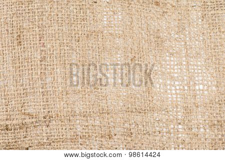 Canvas Background - Burlap