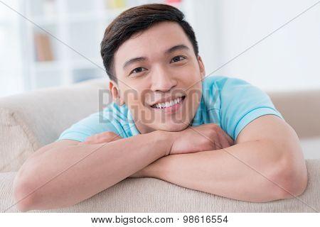 Handsome Vietnamese Young Man