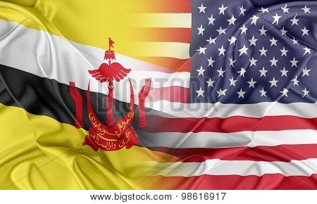 USA and Brunei