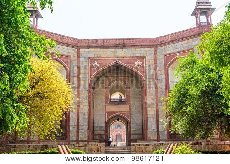 Entrance of Humayun's Tomb