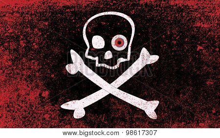Jolly Roger With Eyeballs