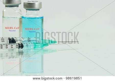 Vaccine In Vials For Stop Mers-cov