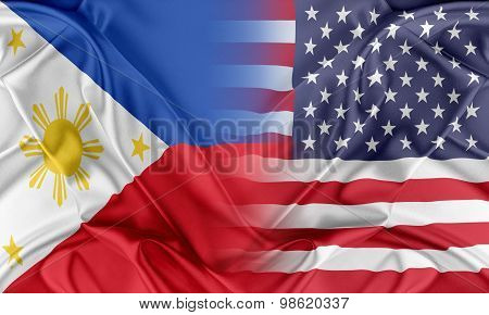 USA and Philippines