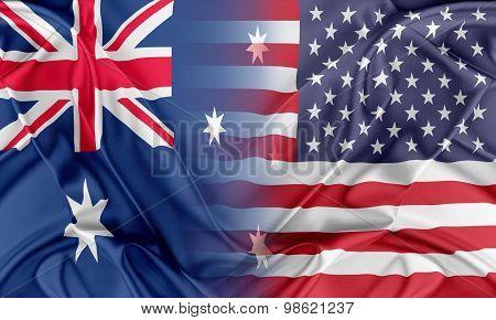 USA and Australia
