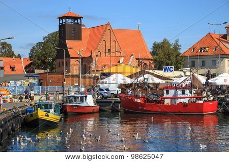 Port Of Hel, Poland.
