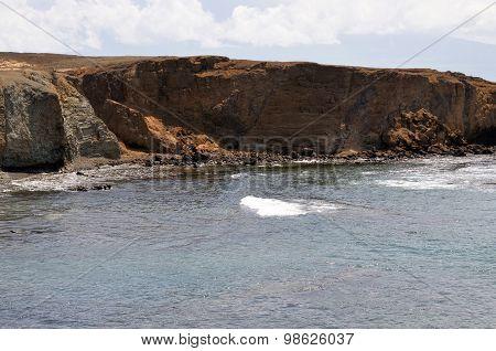 Dry Cliff Eroding