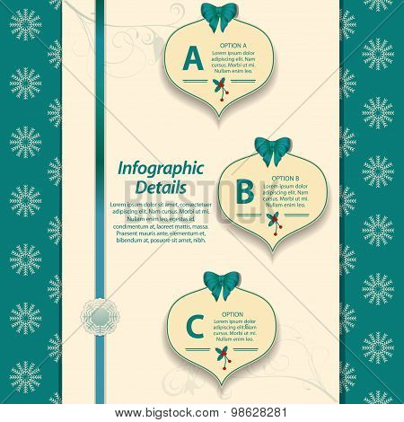 Christmas Info graphic