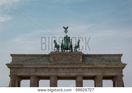 brandenburg gate , berlin germany