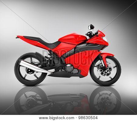 Brandless Motorcycle Motorbike Vehicle Concept
