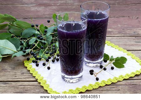Tonic Drink With Bird Cherry