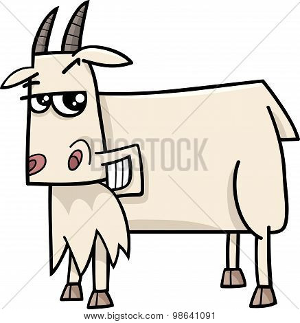 Goat Farm Animal Cartoon