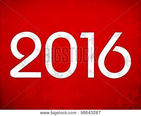 2016 Christmas Red Background