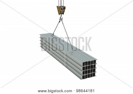 Crane Hook With Rolled Metal H-beam