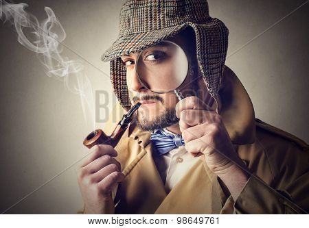 Old-fashioned detective