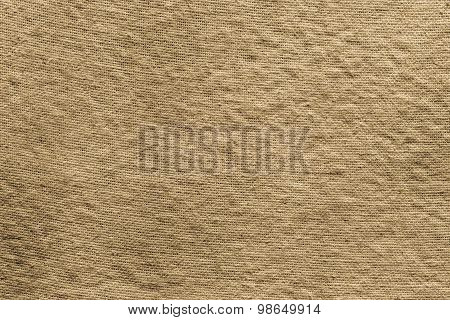 Textured Background Of Dark Old Rough Fabric